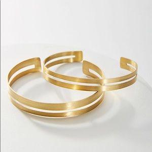 Anthropologie Anastasia Cuff Bracelet